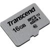 Карту памяти Transcend microSD 300S, 16GB (TS16GUSD300S), купить за 365руб.