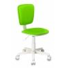 Компьютерное кресло детское Бюрократ CH-W204NX/15-118, салатовое (пластик белый), купить за 3 190руб.