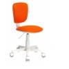Кресло офисное Бюрократ CH-W204NX оранжевое, купить за 3 190руб.