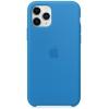Чехол iphone Apple Silicone Case для iPhone 11 Pro (MY1F2ZM/A) Surf синий, купить за 3710руб.