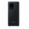 Чехол для смартфона Samsung Galaxy S20 Ultra Smart LED Cover (EF-KG988CBEGRU), черный, купить за 2825руб.