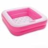Бассейн надувной Intex Play Box Inflatable Square 57100 розовый, купить за 460руб.