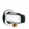 Подключение для душевого шланга Grohe 28406000 Movario с держателем, хром, купить за 2 950руб.