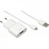 Зарядное устройство Hama H-119478 для Apple, белый, купить за 1615руб.