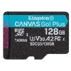 Карту памяти Kingston microSDXC 128Gb (SDCG3/128GBSP), купить за 2070руб.