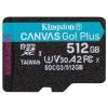 Карту памяти Kingston UHS-II Class U3 V30 A2, microSDXC 512Gb, купить за 10 190руб.