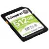 Карту памяти Kingston SDS2/512GB (Canvas Select 100R CL10 UHS-I), купить за 7135руб.