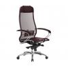 Компьютерное кресло Метта Samurai S-1.04,  Темно-бордовый, купить за 19 000руб.