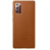Чехол для смартфона Samsung Galaxy Note 20 Leather Cover (EF-VN980LAEGRU), коричневый, купить за 2405руб.
