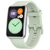 Умные часы Huawei  Watch Fit (TIA-B09),  мятно-зеленые, купить за 7025руб.