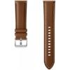 Ремешок для умных часов Samsung Stitch Leather Band для Galaxy Watch 3  (ET-SLR84LAEGRU) 45мм,  коричневый, купить за 3745руб.
