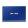 Внешний жёсткий диск Samsung T7 External 2Tb (MU-PA1T0B/WW), синий, купить за 25 730руб.