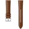 Ремешок для умных часов Samsung Stitch Leather Band (ET-SLR85SAEGRU) коричневый, купить за 3745руб.