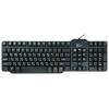 Клавиатура CBR KB 105D Black USB, купить за 360руб.