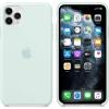 Чехол для смартфона Apple Silicone Case для iPhone 11 Pro Max (MY102ZM/A) Морская пена, купить за 3740руб.