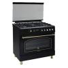 Плита Ricci RGC 9030 BL, чёрная, купить за 38 930руб.