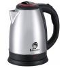 Чайник электрический Василиса Т30-2000 нержавеющая сталь/чёрный с красным, купить за 710руб.