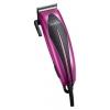 машинка для стрижки Delta DL-4015 бордовый/темно розовый