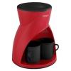 Кофеварка Delta Lux DL-8131, красная, купить за 980руб.