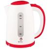 Чайник электрический Василиса Т17-2200, белый с красным, купить за 900руб.