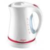 Чайник электрический Atlanta ATH-612, бело-красный, купить за 1 260руб.