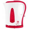 Электрочайник Василиса T21-1200, белый с красным, купить за 620руб.