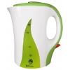 Электрочайник Василиса Т13-1100, белый с зеленым, купить за 630руб.