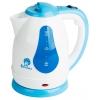 Чайник электрический Василиса Т3-1500, белый с серо-голубым, купить за 930руб.