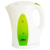 Электрочайник Эльбрус-3, белый с зелёным, купить за 650руб.