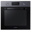 Духовой шкаф Samsung NV70K2340RG, серый с черным, купить за 26 100руб.
