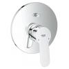 Смеситель для ванны Grohe 29079000 BauEdge (со встраиваемым механизмом), хром, купить за 7 450руб.