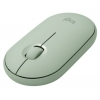 Мышь Logitech (910-005720) Wireless Pebble M350 EUCALYPTUS, купить за 1705руб.