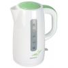 Электрочайник Supra KES-3013, белый/зеленый, купить за 1 435руб.