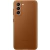 Чехол для смартфона Samsung Galaxy S21 Leather Cover (EF-VG991LAEGRU), коричневый, купить за 2865руб.