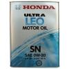 Масло моторное автомобильное Honda 0w20 Ultra LEO SN (08217-99974) 4л, купить за 3155руб.