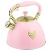 Чайник для плиты Zeidan Z-4272 3л, розовый, купить за 1770руб.
