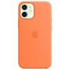 Чехол iphone Apple для Apple iPhone 12 mini Silicone Case with MagSafe  (MHKN3ZE/A), кумкват, купить за 5195руб.