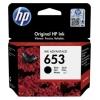 Картридж для принтера HP 653 3YM75AE черный, купить за 1380руб.
