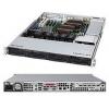 Серверная платформа Supermicro CSE-815TQ-563CB, корпус для сервера (1U, 4x3.5'', 560 Вт), чёрный, купить за 21 095руб.