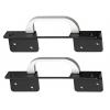 Серверный аксессуар Rackmount kit Сhenbro 84H210510-004 (2x handles w/ ears, для SR105 / SR209 / SR112), купить за 765руб.