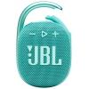 Портативную акустику JBL Clip 4, бирюзовая, купить за 3210руб.
