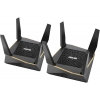 Роутер wi-fi ASUS RT-AX92U(2-PK), черный, купить за 25 550руб.