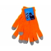 Перчатки для емкостных дисплеев Yifan 1, оранжевые, купить за 260руб.