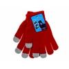 Перчатки для емкостных дисплеев Yifan 1, красные, купить за 260руб.