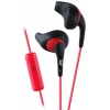 Гарнитура проводная для телефона JVC HA-ENR15, черно-красная, купить за 995руб.