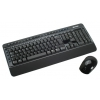 Комплект Microsoft Wireless Desktop 3000 BlueTrack Black USB, купить за 2880 руб.