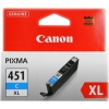 �������� Canon CLI-451XLC 6473B001 Cyan, ������ �� 1 130���.