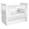 Детскую кроватку Красная Звезда Елисей С717, белая, купить за 17 160руб.