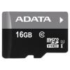 ADATA Premier microSDHC Class 10 UHS-I U1 16GB + SD adapter, купить за 570руб.