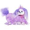 Игрушка мягкая Just Play Собачка Кэнди и ее щенки, фиолетовая, купить за 2 445руб.